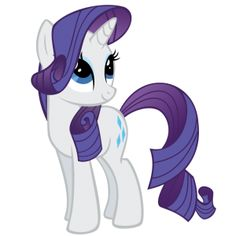My Little Pony Rarity My most favorite little Pony ^_^