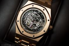 Audemars Piguet Royal Oak skeleton in rose gold