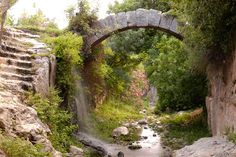 Roman Arch in Samandag, Turkey by Jack Brauer