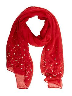 dots: Pyramid Studded Oblong Scarf