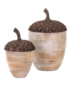 Naleigh Decorative Acorn - Set of Two