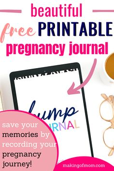 Free printable pregnancy journal (week by week) - are you looking for a fun and creative way to record your memories throughout your pregnancy? Being pregnant doesn't happen every day and it's such a precious time. Create a keepsake journal you'll love having to read over later on down the track.