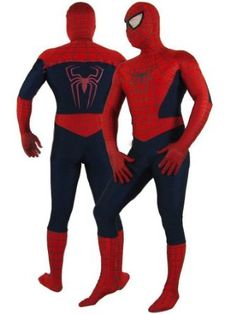 Super Deluxe Adult Spiderman Costume