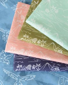 Monteverde fabric collection by Hawthorne Threads