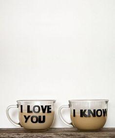 I Love You - I Know Coffee Cups