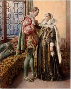 Marie Queen of Scots and Lord Darnley