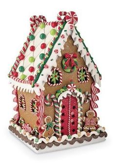 100 Gingerbread House Ideas to give your Christmas Party a Delicious Dose of Happiness - Hike n Dip - - Thinking about Gingerbread house decorating party? Then you have to have a look at these delicious and cute Gingerbread house ideas right here. Cool Gingerbread Houses, Gingerbread House Designs, Gingerbread House Parties, Gingerbread Village, Gingerbread Decorations, Christmas Gingerbread House, Christmas Decorations, Gingerbread Icing, Gingerbread House Decorating Ideas