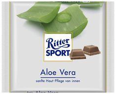 RITTER SPORT Fake Schokolade Sorte Aloe Vera