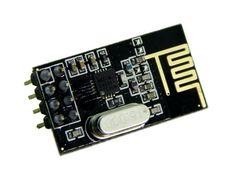 Transmisor y Receptor inalámbrico 2.4GHz