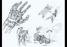 E.J. Su - Mech anatomy - from Transformers: Infestation TPB