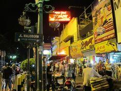 Malioboro Street At Yogyakarta