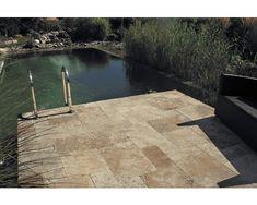 Travertin Terrassenplatte Napoli römischer Verband Set=1,48 m² (nur Lagenweise erhältlich) bei HORNBACH kaufen
