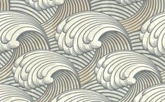 Vintage Art Nuveau Waves Pattern Background - http://www.welovesolo.com/vintage-art-nuveau-waves-pattern-background/