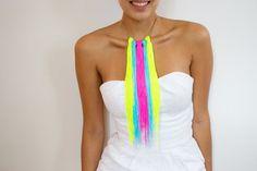 Como hacer un collar http://diariodeunafashionlover.blogspot.mx/2013/05/diy-ideas-para-hacer-collares.html