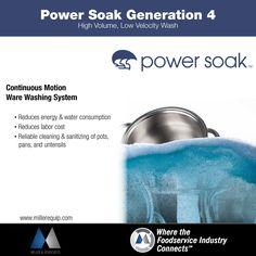 PowerSoak Generation 4. #powersoak #warewashing #millerandassociates