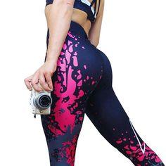 5c2f5c1bf1b51 Athleisure Leggings. Punk WomenPrinted LeggingsWomen's LeggingsLeggings Are  Not PantsGreen LeggingsLeggings FashionWomen's FitnessWaist ...