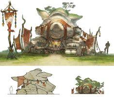 Qiqirn Tribe Stalls | Final Fantasy XIV: A Realm Reborn