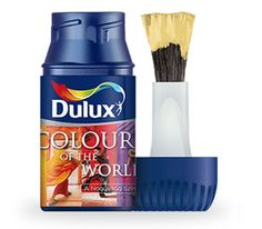Dulux A Nagyvilág Színei festékminta - Dulux minta webshop Water Bottle, Drinks, Patterns, Colors, Drinking, Block Prints, Beverages, Water Bottles, Drink