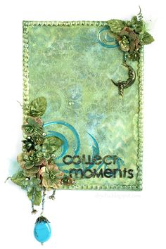 "Collent Moments canvas and TUTORIAL  *** Scraps of Darkness *** ""Jamaican Sunset"" Kit - Scrapbook.com"
