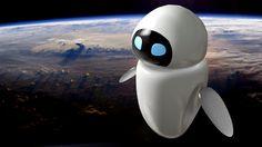 Wall-E EVA blender 3d