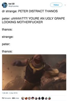 "36 Tumblr Posts And 19 Tweets About ""Avengers: Infinity War"" That Are A Real Mood"