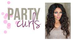Party Curls Tutorial! Super easy!