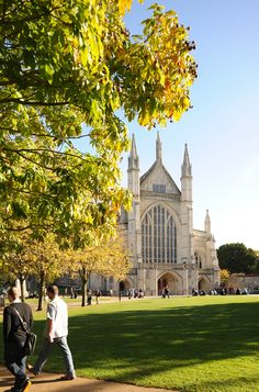 Winchester Cathedral!