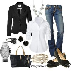 Cute casual or work outfit