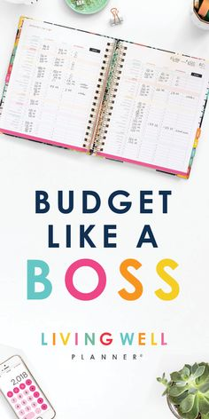 LIVING WELL requires living ORGANIZED! Get a grip on it ALL with the Planner that does it ALL! This organization tool helps you set and track your goals, plan and schedule your calendar, and manage your budgeting so you can get CONTROL of your finances! Get your Life Saver today!