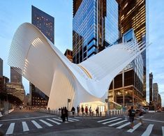 (Snapchat: ) Calatrava's Oculus at the World Trade Center in . Spanish architect Santiago Calatrava's vast ribbed structure that soars over the World Trade Center Transportation Hub in New York. by @huftonandcrow . Please follow us @parametric.architecture @parametric.architecture @parametric.architecture . If you want t-shirts or hoodie , please check the link in our bio (profile)➡️ @architectcorner Perfect gift for your family members and friends Thank you ! ...