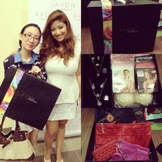 Excuse my tired fez. Its been a long commuting day! But thank you so much, @Avon Philippines & @trishlimtalks for my suitcase filled with awesome Avon products!:) Great night!❤. Photo by artsyava