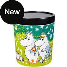Moomin jar M, Tove's jubilee, by Arabia. Moomin Shop, Tove Jansson, Scandinavian Living, Marimekko, Nordic Design, Cool Toys, Color Patterns, Tableware, Medium