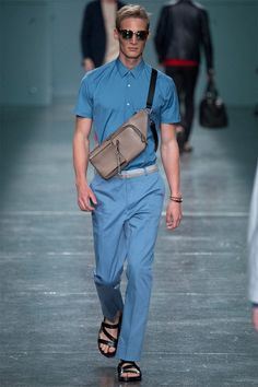 Fendi - Spring/Summer 2015 - Milan Fashion Week #fendi #summer2015 #milanfashionweek #runway #luxury #essentialhomme