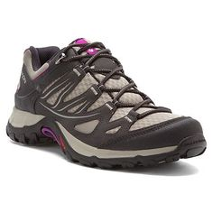 Salomon Women's EllipseAero Shoe Salomon. $100.00. synthetic. Rubber sole. ContaGrip Outsole. Quicklace