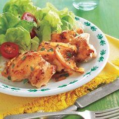 marmalade glazed chicken thighs recipe
