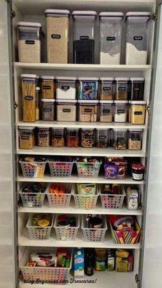 New Kitchen Storage Organization Pantry Organisation Drawers 61 Ideas Storage Room Organization, Kitchen Organization Pantry, Diy Kitchen Storage, Home Office Organization, Pantry Storage, Closet Storage, Diy Storage, Organization Ideas, Pantry Ideas