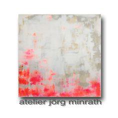 Abstrakte Malerei - Handgemaltes Original - Gemälde auf Holzkeilrahmen - 100 x…