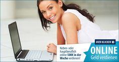 Neben- oder hauptberuflich online 500€ in der Woche verdienen. Angst, Internet Marketing, Blogging, Career, Business, Ideas, Home Based Work, Passive Income, Entrepreneur