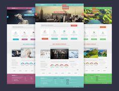 Free PSD template: Modus Versus | Webdesigner Depot