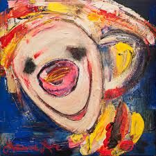 Bilderesultat for marianne aulie klovner Clown Images, Art Lessons, Madonna, Fine Art, Texture, Contemporary, The Originals, Abstract, Artist