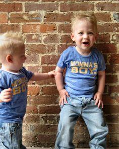 LOVE. Momma's Boy Tee-boys, tee,blue,shirt,burnout,sofr,baby,shower,gift,sakrid