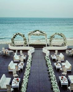 "LEBANESE WEDDINGS's Instagram post: ""NOTHING beats an outdoor ceremony with a breathtaking sea view 🌊 Don't you agree ?! ______________________ ▪︎Wedding planner and designer:…"" Lebanese Wedding, Wedding Decorations, Table Decorations, Outdoor Ceremony, Wedding Bells, Beats, Wedding Planner, Traditional, Weddings"