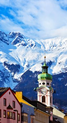 ღღ Charming old town in Innsbruck Austria