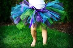 Lil' Miss Peacock Tutu by littledreamersinc on Etsy