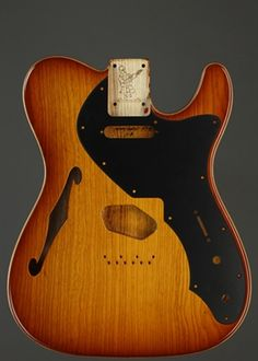 Warmoth Custom Guitar Products - Thinline Telecaster Guitar Body