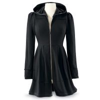 Black Orchid Jacket Dress - Available today at Catalog Favorites. Shop for casual and novelty clothing, T-shirts, accessories, jewelry & décor. Pyramid Collection, Unique Clothes For Women, Black Orchid, Unique Dresses, Long Dresses, Dress Long, Cotton Dresses, Dressy Dresses, Mode Inspiration