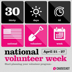 There's no better time to start a volunteer program where you work. #NationalVolunteerWeek