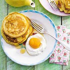 Recept - American pancakes met abrikoos - Allerhande