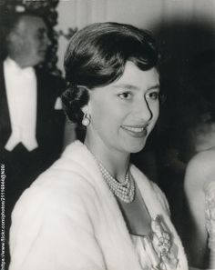 Princess Margaret at the Dockland Settlements Ball at the Savoy Hotel October 22 1959. .