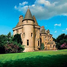 Fernie Castle Hotel, Scotland. The ancient Castle of Fernie was first recorded in 1353 when it belonged to the Earl of Fife-Duncan the 13th. The Fernie family held the lands as early as the 15th century and the present building is some 450 years old.